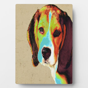 Artistic Beagle Plaque