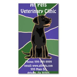 Artistic Black Labrador Dog Business Cards
