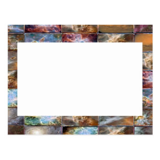 Artistic Border -  Add your text or Image Postcard