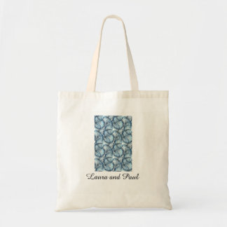 Artistic Budget Wedding Tote Bag