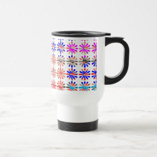 Artistic Bunch of Flowers EACH Painted UNIQUELY Coffee Mugs