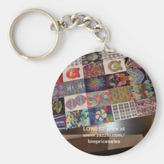 Artistic BUSINESS Giveaway : Editable Replace Text Basic Round Button Key Ring