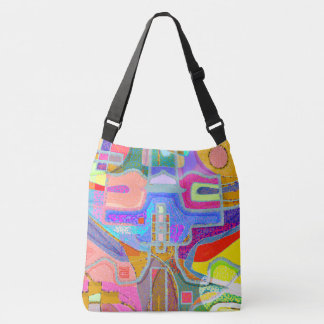 Artistic Colorful Abstract Fun Bag
