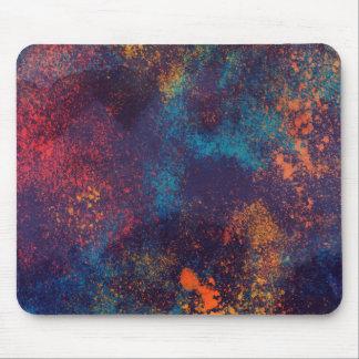 Artistic Colorful Grunge Spots   Mousepad