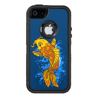 Artistic Colorful Koi OtterBox Defender iPhone Case