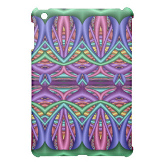 Artistic colorful Patterns iPad case