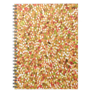 Artistic Confetti Template DIY Add Text IMG gifts Spiral Notebook