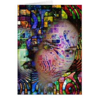 Artistic Confusion of Brain Fog Card