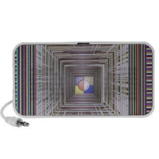 ARTISTIC Cosmic Infinity ART Light end of Tunnel Laptop Speakers