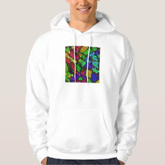 artistic cubes 4 vivid (I) Hoodie