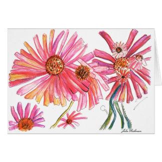 Artistic Daisy Card