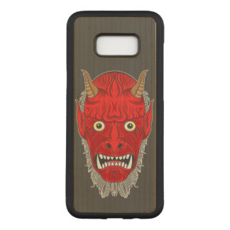 Artistic Demon Carved Samsung Galaxy S8+ Case