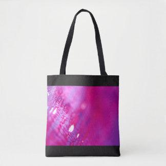 Artistic design bag : purple black