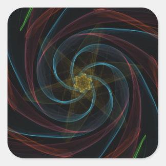 Artistic Dimensions Square Sticker