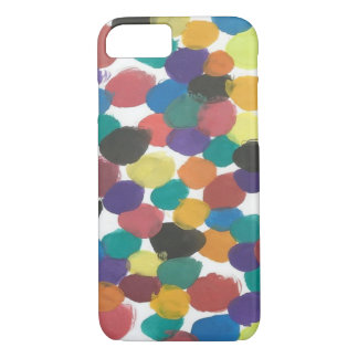 Artistic Dots Colorful Case for iPhone8