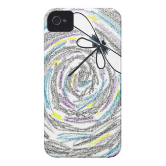 Artistic Dragonfly iPhone 4 Case