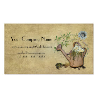 Artistic, Elegant- Water Can- Garden Things- 3 Pack Of Standard Business Cards