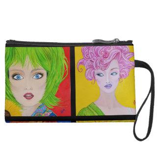 Artistic Expressions Fine Art Print Makeup Bag