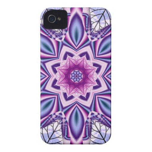 Artistic Fantasy Flower & Leaves Blackberry Case