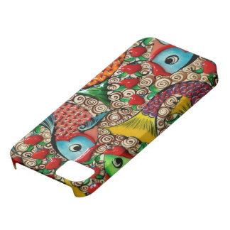 Artistic fish iPhone 5 covers