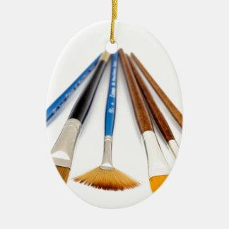 Artistic Flair Ceramic Oval Decoration