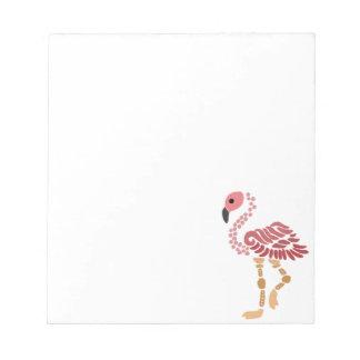 Artistic Flamingo Art Notepad