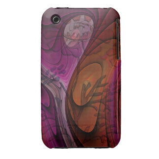Artistic floral iPhone 3G/3GS Case-Mate case