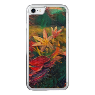 Artistic Flower Carved iPhone 8/7 Case