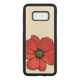 Artistic Flower Design Carved Samsung Galaxy S8 Case