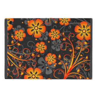 Artistic Flower Pattern iPad Mini Case