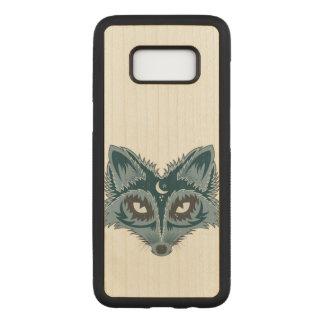 Artistic Fox (blue) Carved Samsung Galaxy S8 Case
