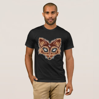Artistic Fox Drawing T-Shirt