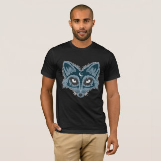 Artistic Fox Illustration T-Shirt
