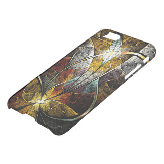 Artistic Fractal iPhone 7 Clearly™ Deflector Case