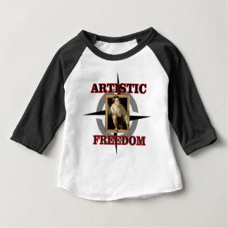 artistic freedom boy leaves baby T-Shirt