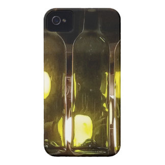 Artistic Funky Masculinev Wine Bottle iPhone 4 Cover