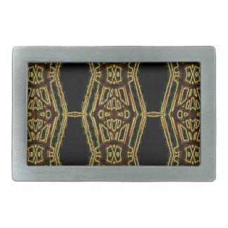 Artistic Golden Masculine Pattern Belt Buckles