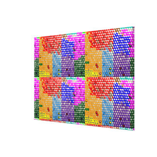 Artistic graphic n digital designs by Navin joshi Gallery Wrapped Canvas