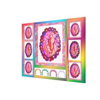 Artistic graphic n digital designs by Navin joshi Gallery Wrap Canvas