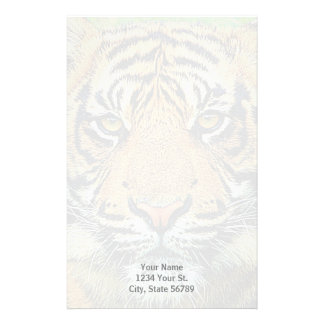 Artistic Graphic Tiger Stationery Paper
