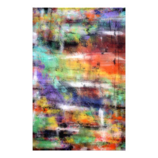 Artistic Grunge Art Stationery