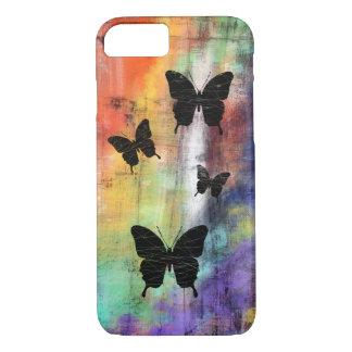 Artistic Grunge Butterflies iPhone 7 Case