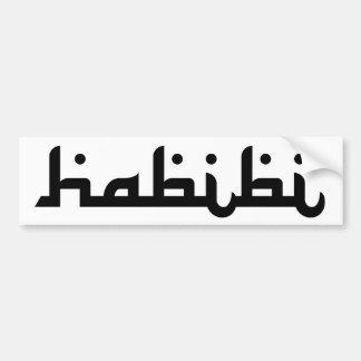 Artistic Habibi Bumper Sticker