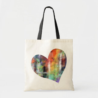 Artistic Heart Tote Bag