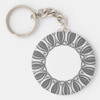 artistic kaleidoscope background key ring