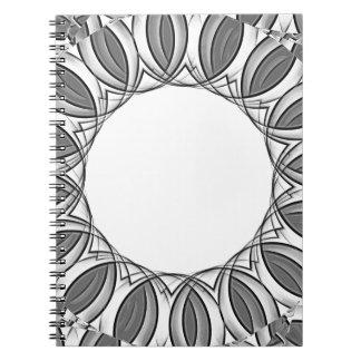 artistic kaleidoscope background notebooks