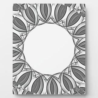 artistic kaleidoscope background plaque