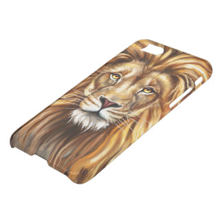 Artistic Lion iPhone 7 Clearly™ Deflector Case