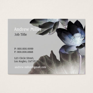 Artistic Lotus Blossoms Business Card