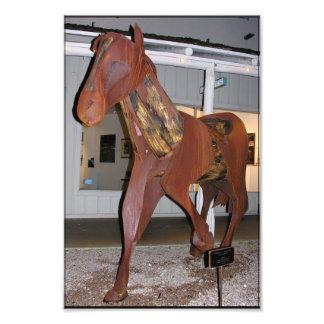 Artistic Metal Horse Photograph